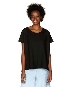 コットンラウンドネック半袖Tシャツ・カットソー