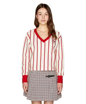 ストライプピッチ長袖Tシャツ・カットソー