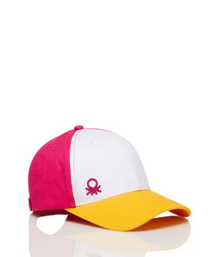 コットンマルチカラーキャップ・帽子