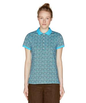 プリントポロシャツ