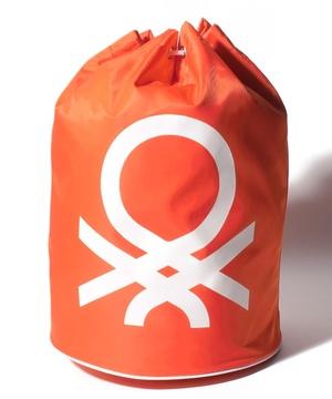 ブランドロゴビーチバッグ