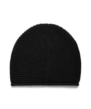 ウールハイゲージニットワッチキャップ・ニット帽