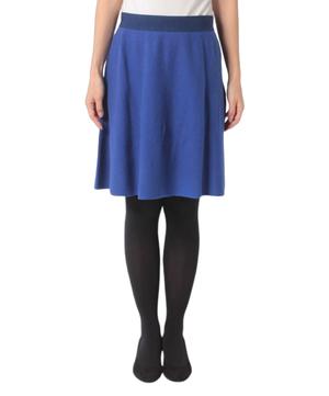 ウールミニニットスカート