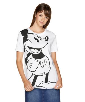 【Disney(ディズニー)コラボ】ミッキーマウス半袖Tシャツ・カットソー
