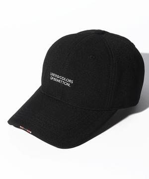 ベネトンロゴライン付きキャップ・帽子