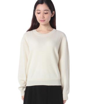 クルーネックオーバーサイズニット・セーター