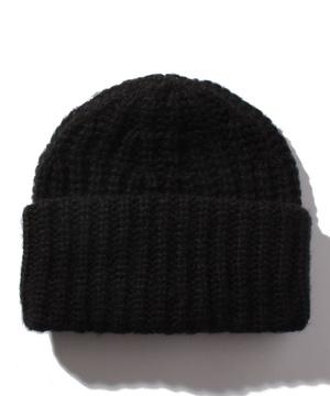 リブニットワッチキャップ・ニット帽