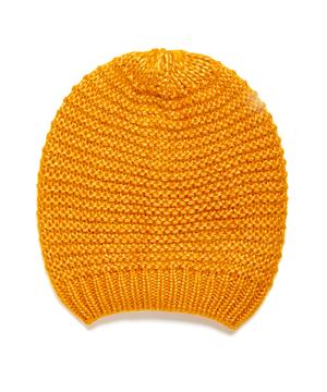 ガーター編みニットワッチキャップ・ニット帽