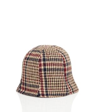 リバーシブル・ツイード帽