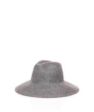 ウール中折れハット・帽子