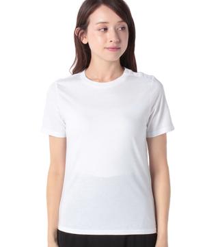 マルチカラーボタンコンパクトTシャツ・カットソー