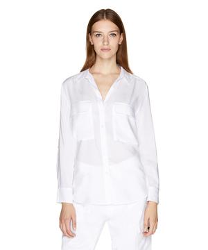 アウトポケットオーバーサイズシャツ・ブラウス