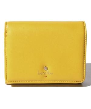 フラップカラー札入れ二つ折り財布・ウォレット