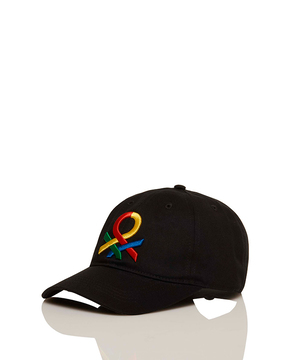 ループロゴ刺繍キャップ・帽子