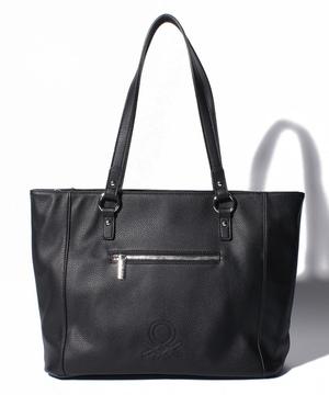 ループ刺繍サイドジップトートバッグ