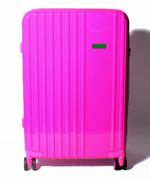ベネトンカラフルキャリーバッグ・スーツケースM(容量約51L)