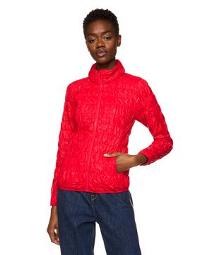 キルティングコンパクト中綿スタンドカラージャケット