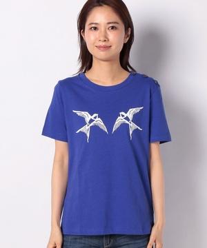 サイドボタンPROVENCEモチーフTシャツ・カットソー