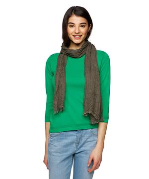 モダールコットン製品染めスカーフ