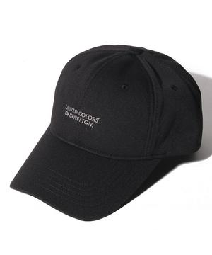 ベネトン2ラインロゴキャップ・帽子(吸汗速乾)