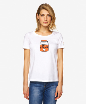 レインボーパッチ付きMADRAGUEモチーフTシャツ・カットソー
