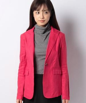 【セットアップ対応商品】リネンテーラードジャケット