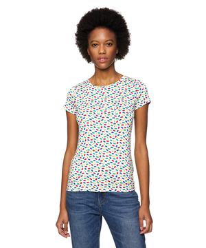 総柄ベーシック半袖Tシャツ・カットソー