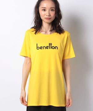 ブランドボックスロゴプリント半袖Tシャツ・カットソー