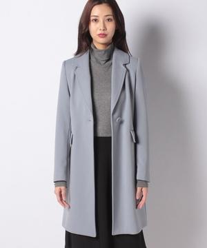 ビッグラペル二重織りコート