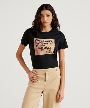 テキストプリントTシャツ・カットソー