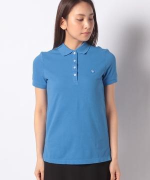 ロゴ刺繍ポロシャツ
