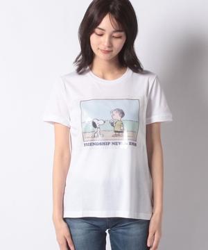 【PEANUTコラボ】スヌーピー&キャラクターモチーフTシャツ・カットソー