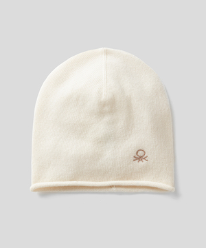 ウールミニロゴニット帽・ワッチキャップ