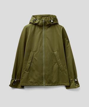 フード付き撥水2WAYジャケット