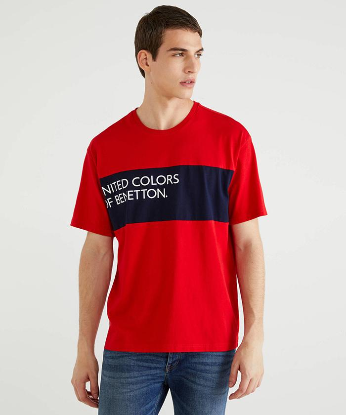 ボックスロゴプリント半袖Tシャツ・カットソー