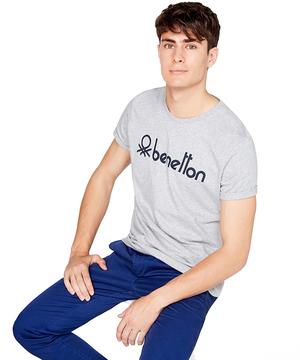 ベネトンロゴ半袖Tシャツ・カットソー