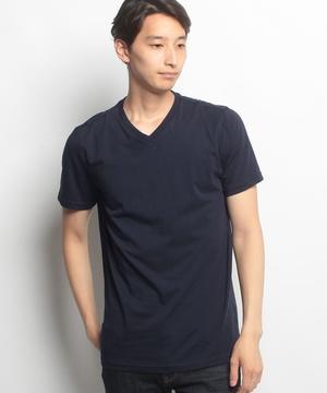 無地Vネック半袖Tシャツ・カットソー