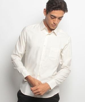 ピーチコットンシャツ