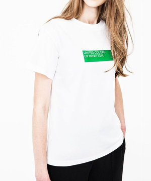 BIGボックスロゴTシャツ(男女兼用)