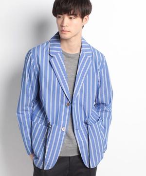 ストライプシャツジャケット