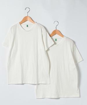 クルーネックパックTシャツ・カットソー2枚セット