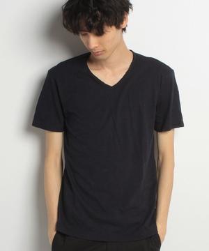スラブV半袖Tシャツ・カットソー
