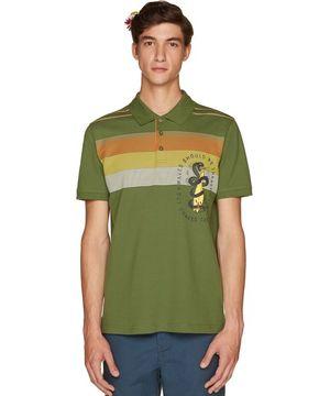 レトロサーフポロシャツ
