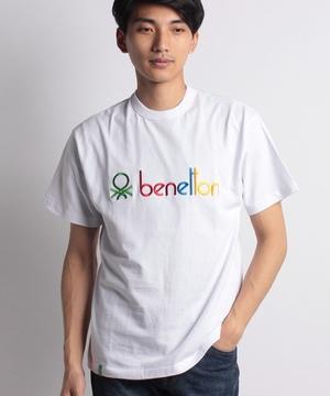 ロゴ刺繍Tシャツ・カットソー