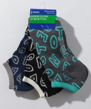 メンズロゴSソックス・靴下