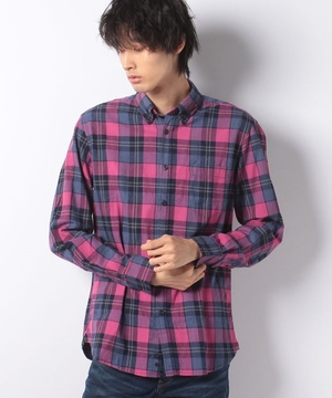 ウィンターチェックシャツ