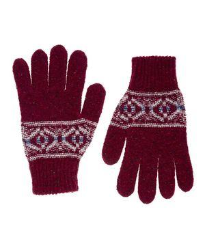 シェトランドウールニットグローブ・手袋