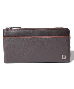 エッジカラーL型束入れ長財布