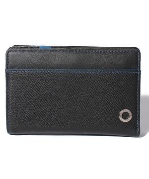 エッジカラー深札入れ二つ折り財布