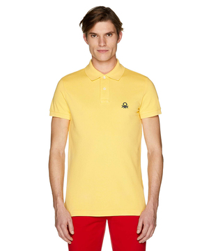 スリムフィットロゴポロシャツ